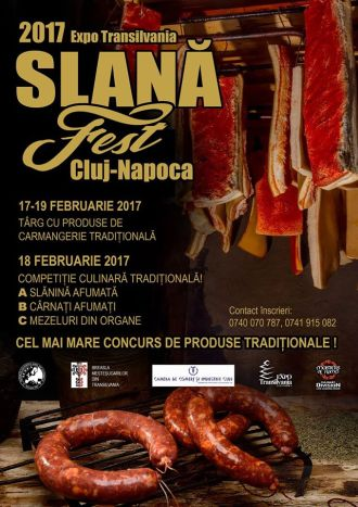 SLANĂ FEST 2017 îşi deschide porţile vineri 17 februarie la Cluj Napoca