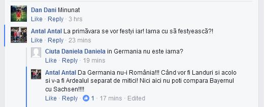Cugetarea zilei. ,,Da Germania nu-i România!!!,,