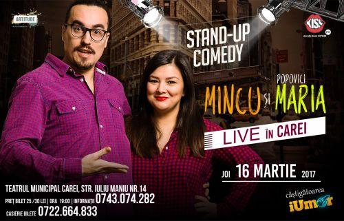 Au mai rămas puţine bilete pentru Stand-up comedy-ul de joi, 16 martie