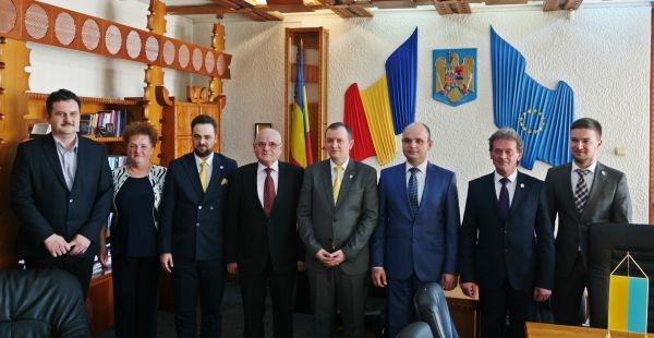 Colaborarea cu Ucraina consolidată la Prefectura Satu-Mare