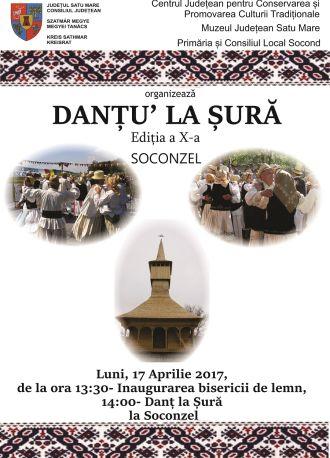 """""""Danțu' la sură"""" a doua zi de Paşti la Socond"""