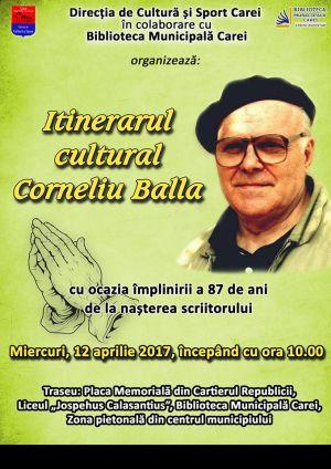 Să nu uităm de Corneliu Balla