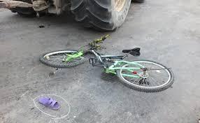 Accident stupid la Carei. Echipaj de descarcerare pentru o adolescentă  ce a căzut de pe bicicletă