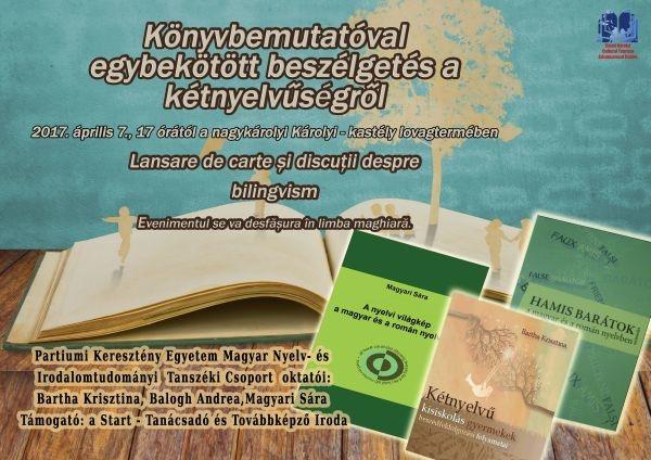 Sesiune de comunicare la Carei având ca temă bilingvismul  susţinută doar monolingv