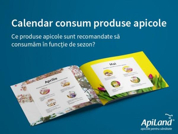 Calendarul produselor apicole indicate a fi consumate în funcţie de sezon
