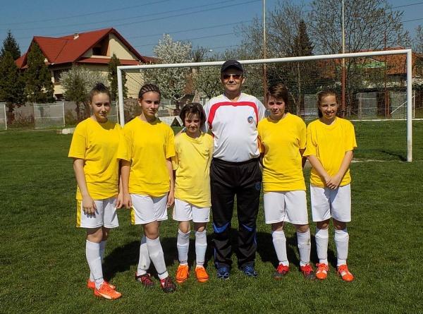 Fotbal feminin la Carei. Sportive în vizorul echipei naţionale