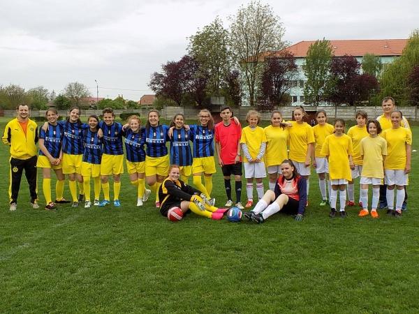 Fotbalistele din Carei se impun în faţa echipei din Sighet