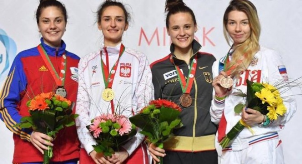 Amalia Tătăran – argint la Europenele U23 de scrimă de la Minsk