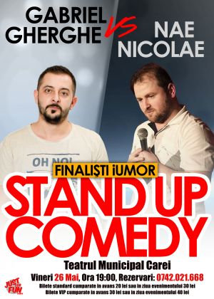 Stand up comedy la Teatrul din Carei
