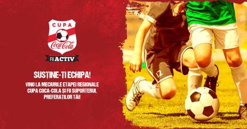 Elevi sătmăreni la cea de-a treia regională din cadrul Cupei Coca-Cola la fotbal