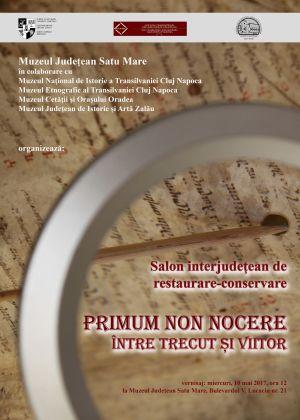 Salon interjudeţean de restaurare conservare la Satu-Mare