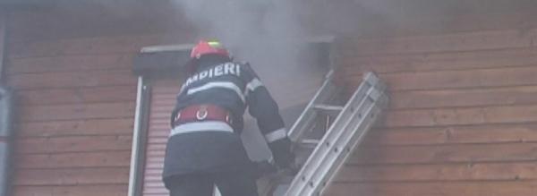 Intervenţie a pompierilor careieni în Grădina Viilor