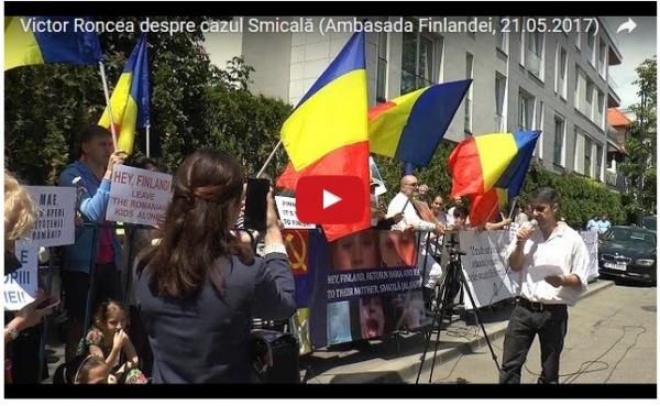 Miting de susținere pentru Camelia Smicală, doctorița cu copiii răpiți de Finlanda, în marile orașe din România
