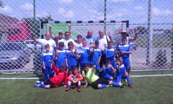 Micii fotbalişti careieni revin de la Marghita cu un frumos loc II