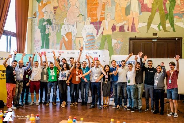 O casă inteligentă sau Baston cu senzori pentru nevăzători sunt proiecte câştigătoare  la Hackathon Techsylvania 2017