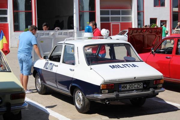 Parada maşinilor retro din Satu Mare