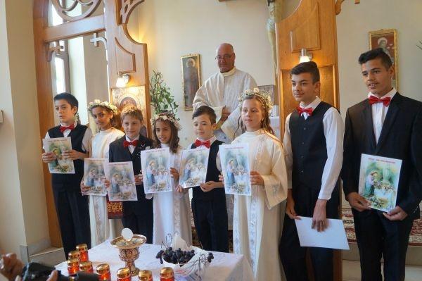 Prima Sfântă Împărtășanie la Parohia Sf Anton