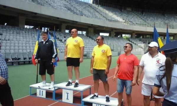 AUR pentru pompierul sătmărean Plt. adj.şef Radu Pop  la Campionatul de atletism și cros
