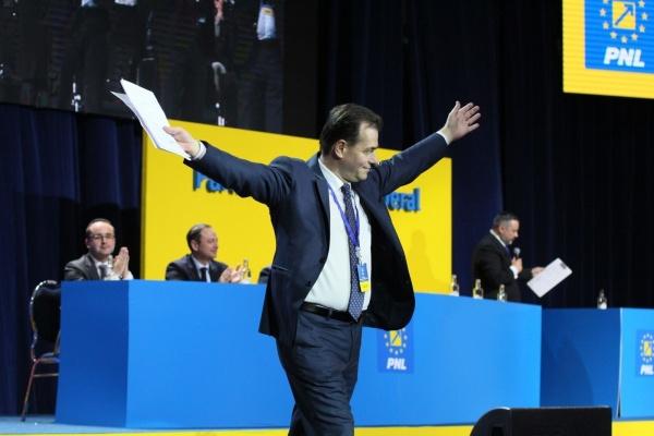 Ludovic Orban, noul președinte al PNL