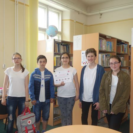 Sanitarii pricepuţi de la Şcoala Vasile Lucaciu Carei s-au clasat pe locul 2 la etapa judeţeană
