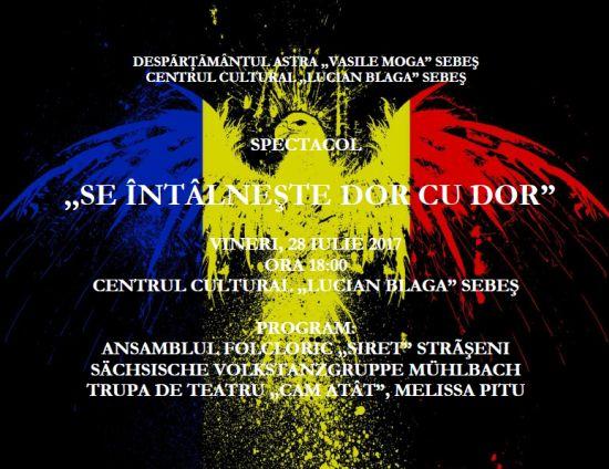 """Invitaţia Despãrţãmântului Astra ,,Vasile Moga"""" Sebeş"""