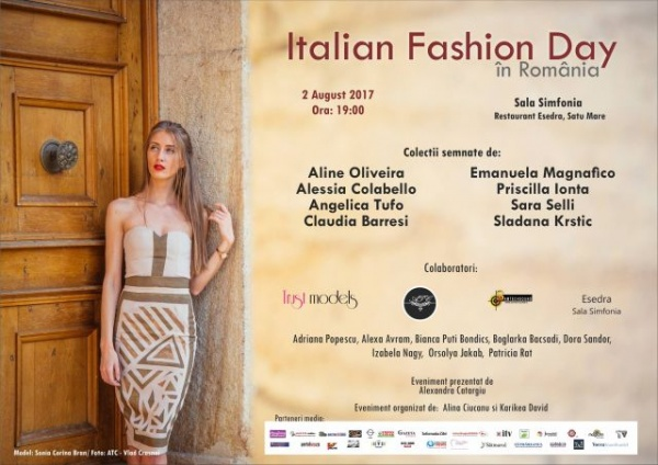 Designeri italieni la Satu Mare. Nu rataţi Italian Fashion Day