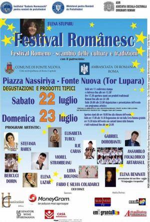"""""""Festival românesc – schimb de cultură și tradiții"""" – Roma, Italia"""