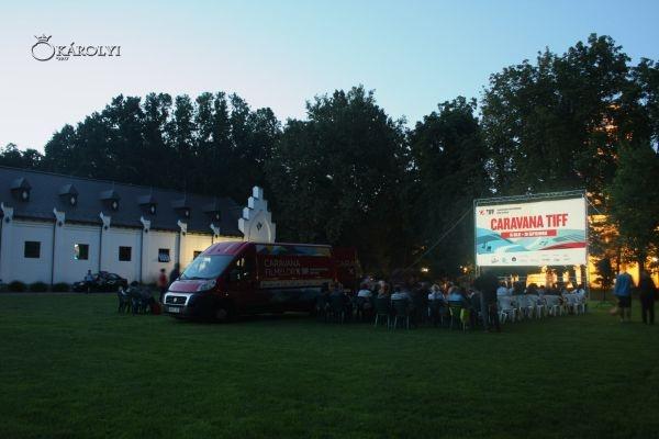 Caravana Filmelor TIFF aduce bună  dispoziţie la Carei