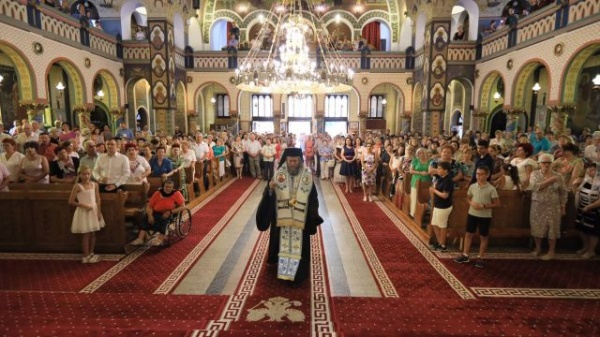 """PS Iustin, Episcopul Maramureşului şi Sătmarului,  la """"Paraclisul Maicii Domnului"""" în Satu Mare"""