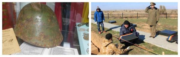 Încă 350 de români căzuți la Stalingrad au fost reînhumați creștinește