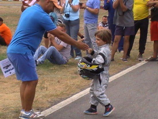 Karting, Carei: La 4 ani s-a clasat pe locul III la  un Campionat Naţional şcolar