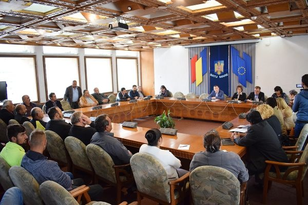 Întâlnire Grup de Lucru Mixt la Prefectura Satu Mare