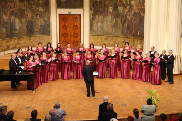 Concert la Carei al Ansamblului Coral VOCI TRANSILVANE