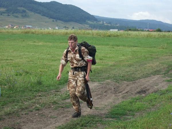 """Maratonistul Daniel Macovei ajunge la Carei pe traseul roşu de la """"Ștafeta Veteranilor 2017,,"""