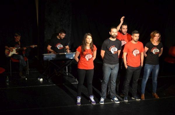 Spectacol improvizat la Teatrul de Nord