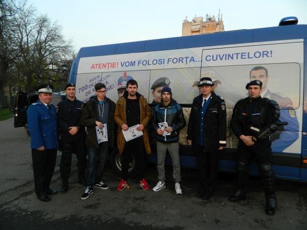 Caravana Jandarmeriei a ajuns la Carei şi Ardud