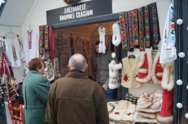 S-a deschis Târgul de Crăciun de la Cluj Napoca
