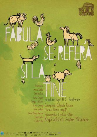 Primul spectacol în limba română din abonamentul Teatrului de Nord pentru copii
