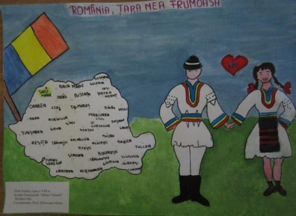 """Rezultatele concursului de creație artistică """"România, țara mea frumoasă ! Sătmărenii sunt buni la fotografie şi desen"""