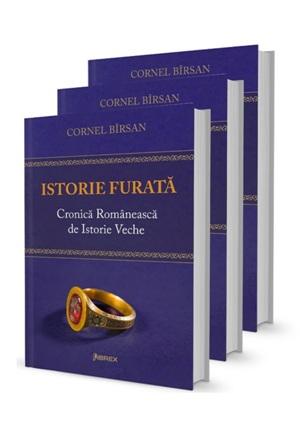 ,,Istorie furată. Cronică românească de istorie veche,,  la a II-a ediţie
