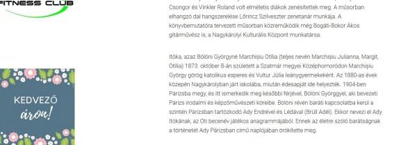 Continuă maghiarizarea numelui Otiliei Marchiş. Acum şi al  părinţilor săi