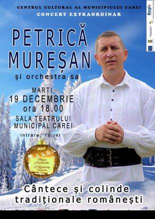 Concert de cântece și colinde tradiționale românești – Petrică Mureșan