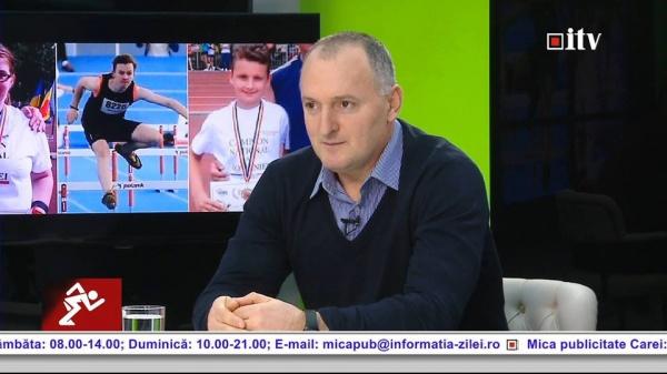 Profesorul Florin Turcu din Carei este vicepreşedinte la Asociația Județeană de Atletism