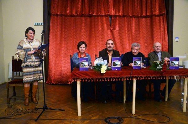 """Lansarea la Carei a volumului de poezii """"Mireasma vieții – My point of view"""""""