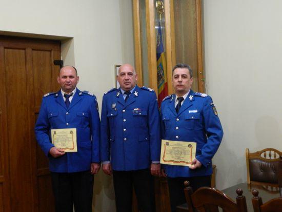 2 pensionări la Inspectoratul de Jandarmi