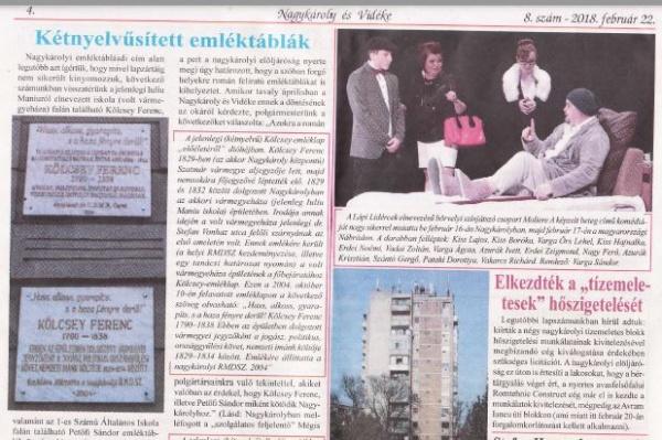 Un consilier al unui primar de municipiu din România nu înţelege cum e cu limba oficială