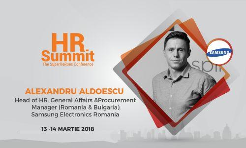 """HR Summit Cluj: """"Tehnologia nu va schimba doar joburile ci și pe noi toți"""" – Samsung România"""