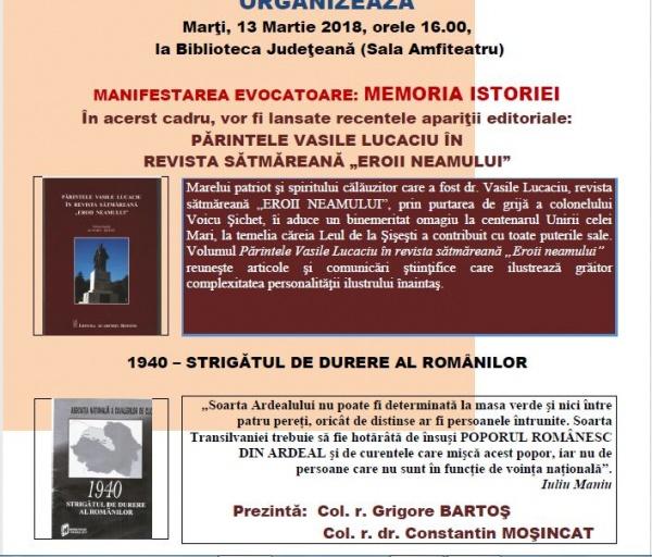Memoria Istoriei la Oradea