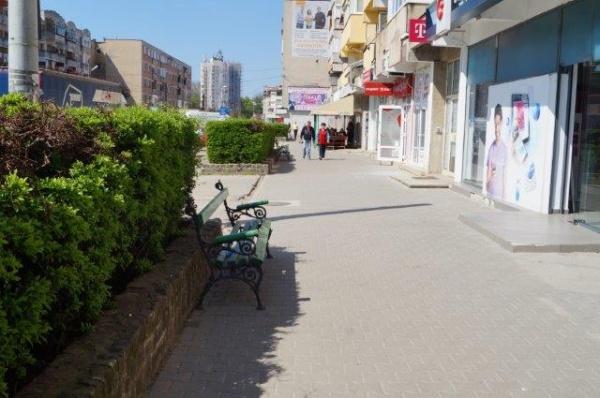 Agenţii economici cer coşuri de gunoi pe calea Mihai Viteazu din Carei