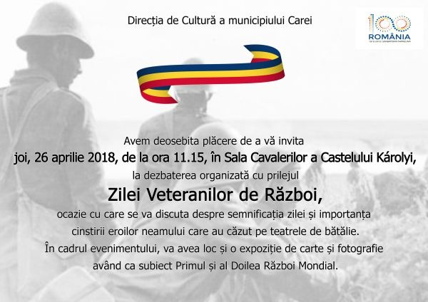 Ziua Veteranilor de război are loc în dimineaţa zilei de 26 aprilie